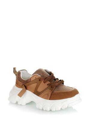 Кроссовки коричневые | 5373115