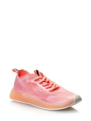 Кроссовки розовые | 5373125