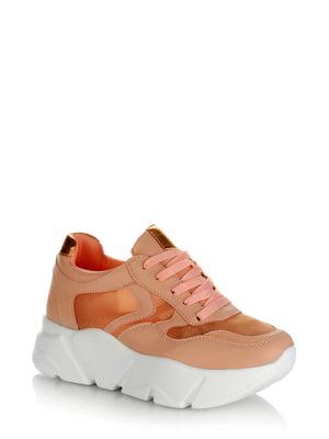 Кроссовки розовые | 5373134