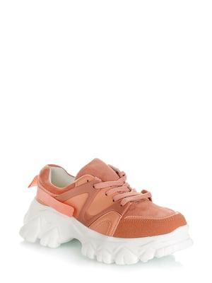 Кроссовки розовые | 5373140