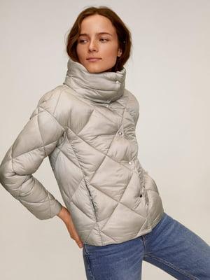 Куртка срібляста | 5369660