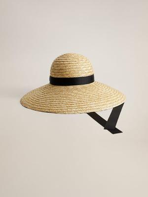 Шляпа бежевая | 5369865