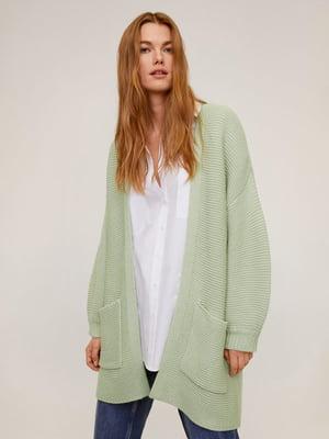 Кардиган светло-зеленый | 5370064