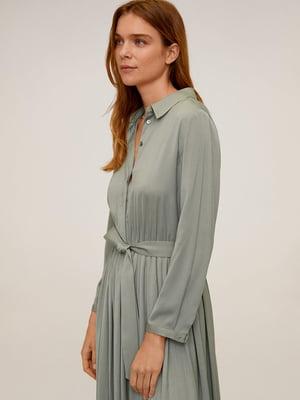 Платье цвета хаки | 5370081