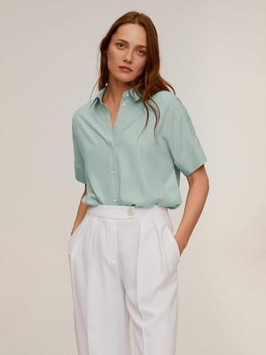 Рубашка бирюзовая | 5370094