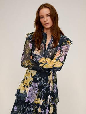 Блуза в принт | 5370155