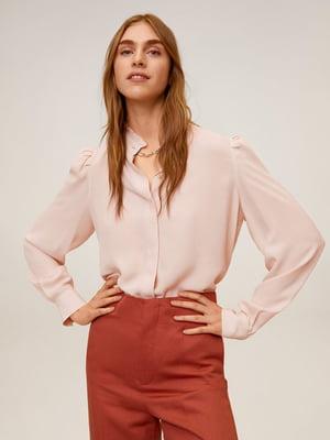 Блуза кольору пудри | 5370184