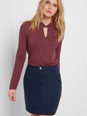 Блуза с принтом | 5368659