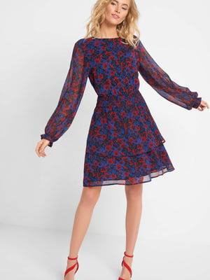 Платье в цветочный принт | 5368722