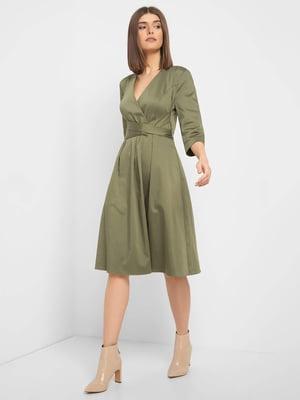 Платье цвета хаки | 5368738