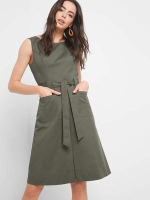 Платье цвета хаки | 5368791