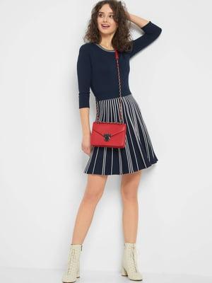 Сукня темно-синя в смужку | 5368832