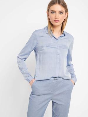 Блуза блакитна | 5368898