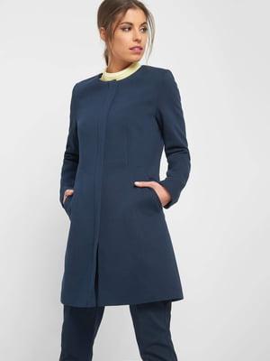 Пальто синее | 5368941