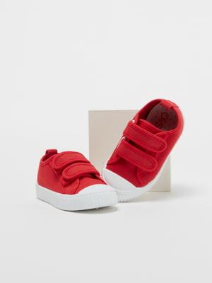 Кроссовки красные   5372045