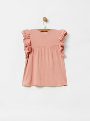 Блуза розовая | 5372065