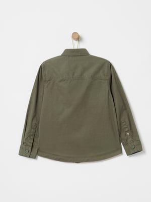Рубашка зеленая | 5372107
