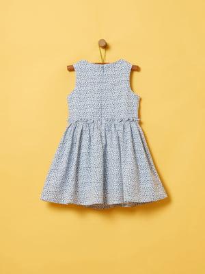 Платье белое в принт | 5372113