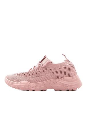 Кроссовки розовые | 5374210