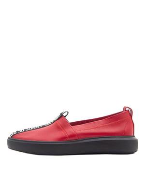 Слипоны красные | 5374213