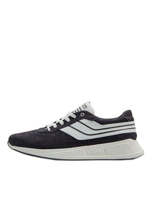 Кроссовки черные в полоску | 5374225