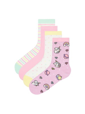 Набір шкарпеток (4 пари) | 5372538