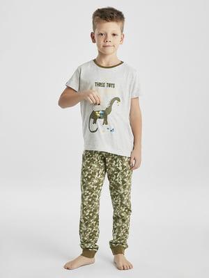 Піжама: футболка і штани | 5372678