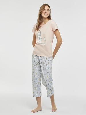 Пижама: футболка и брюки | 5372686