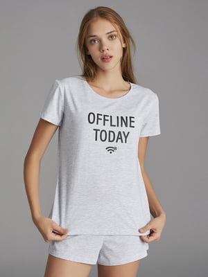 Піжама: футболка і шорти | 5372688