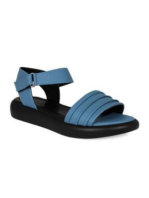 Сандалии голубые | 5374373