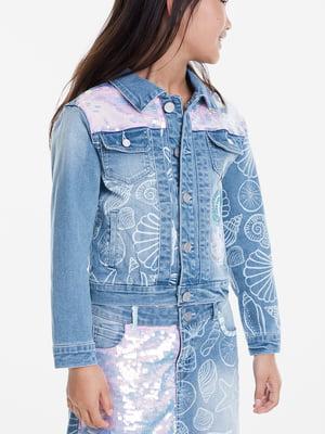 Куртка блакитна | 5369118
