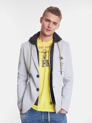 Пиджак серый | 5369130