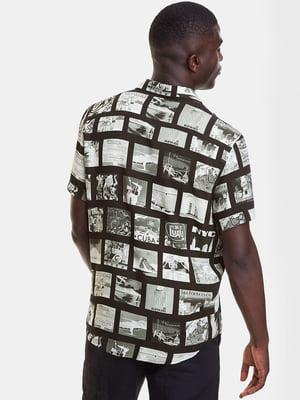 Рубашка в принт | 5369148