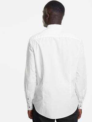 Рубашка белая в принт | 5369149