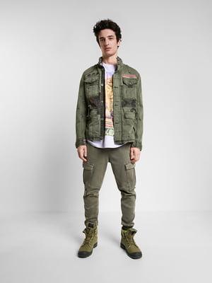 Куртка цвета хаки | 5369162