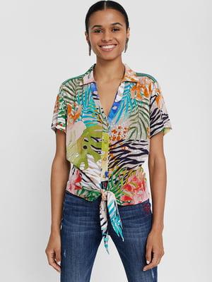 Рубашка в принт | 5369230