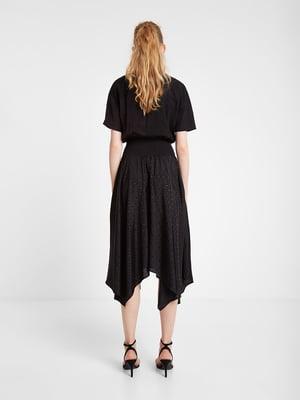 Платье черное с декором | 5369373