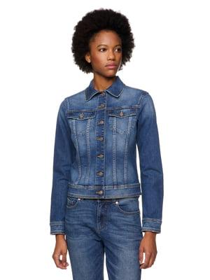 Куртка синя джинсова | 5320968