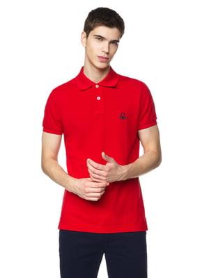 Футболка-поло червона | 5320971
