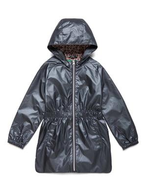 Куртка сріблясто-синя | 5371134