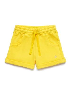 Шорты желтые | 5371236