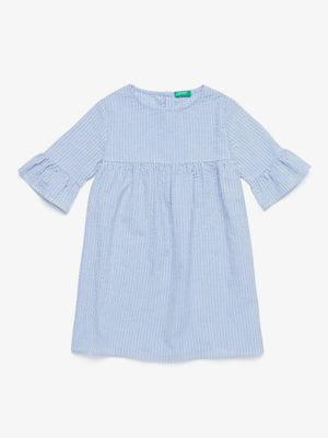 Платье голубое   5371355