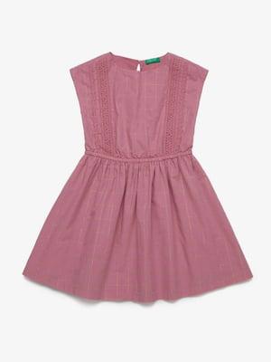 Платье темно-розовое | 5371358