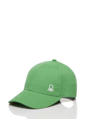 Бейсболка зеленая | 5371404