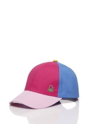 Бейсболка трехцветная | 5371409