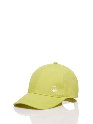 Бейсболка желтая | 5371412
