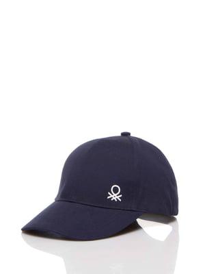 Бейсболка темно-синяя | 5371414