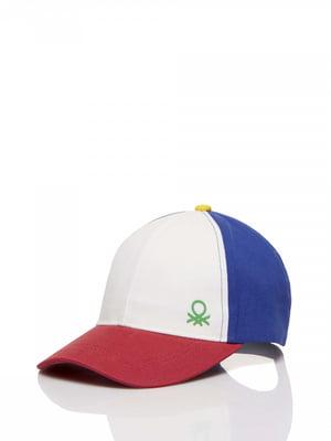 Бейсболка триколірна | 5371415