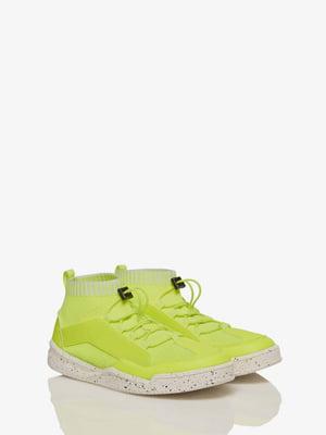 Кросівки лимонного кольору | 5371420