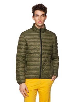Куртка кольору хакі | 5371605